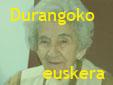 Euskera de Durango